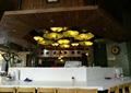 餐厅,餐饮空间,餐桌,吊灯