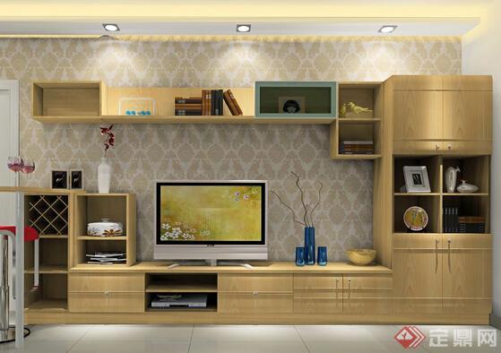 电视屏幕风景图