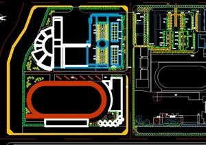 某幼儿园景观设计规划CAD平面图