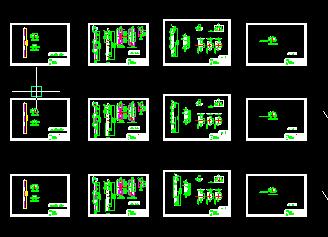 某防火门国家标准v总图cad总图及原创图[拆分]电气图纸ALcc图片