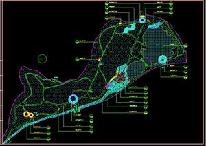 山林公园规划平面图