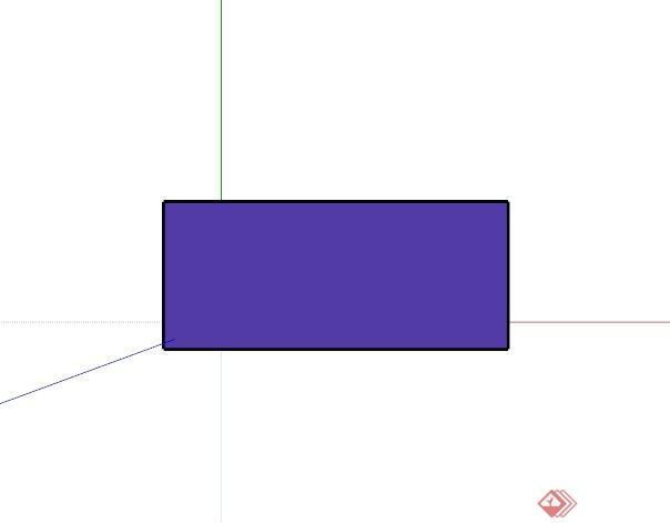 现代紫色路灯设计su模型(2)