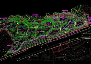 某公园绿化设计图纸