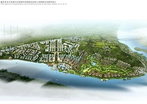 某市花滩片区城市设计jpg文本