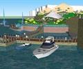 交通码头,码头,船只