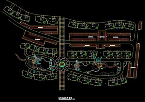 某公园整体规划平面图