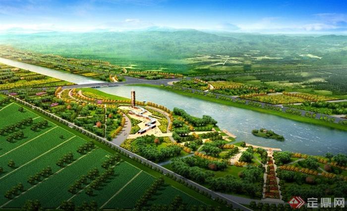 现代中式景观生态公园景观设计pdf概念文本[原创]