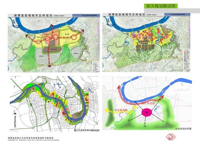 湘潭县沿湘江风光带景观设计规划PDF方案