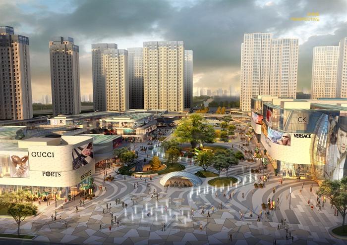 現代商業廣場景觀規劃設計方案[原創]