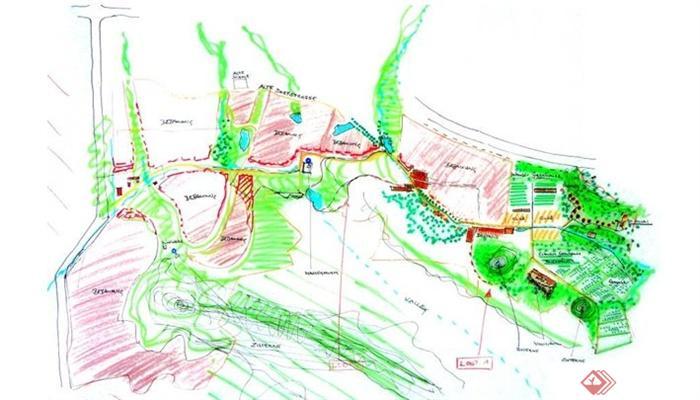 某农业生态园观光园规划设计方案[原创]