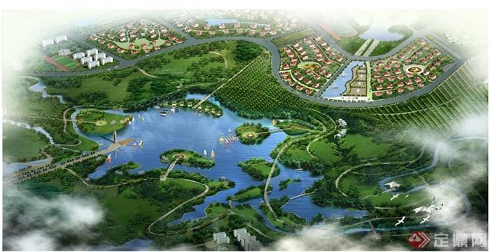 大型生态公园景观设计方案文本[原创]图片