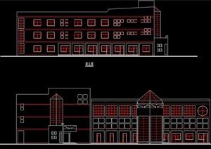 学校教学楼方案图纸