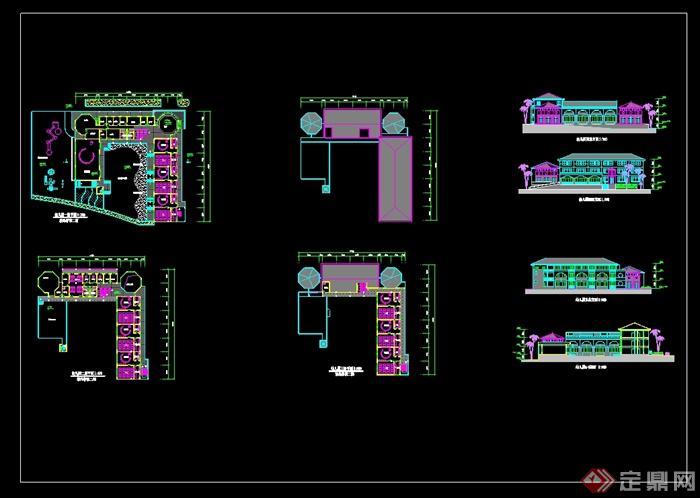 幼儿园教学楼平面图展示_第4页_设计图分享
