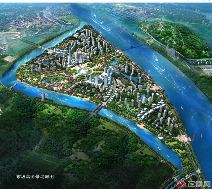 某东坡岛城市设计规划设计ppt文本[原创]
