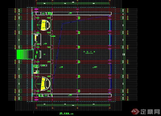 合肥某展中心建筑设计(CAD+效果图)[共享]cad驱动原创不到打印机找图片