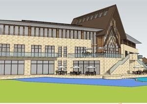 ps灯光素材建筑规划设计方案素材下载