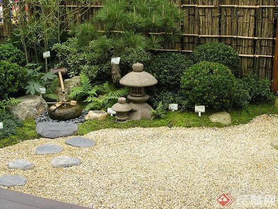 日式庭院的植物景观设计