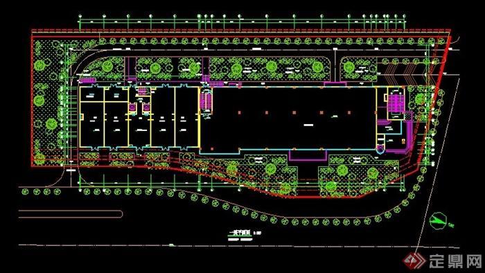 三层住宅楼建筑设计图展示