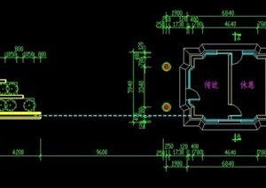 住宅小区大门设计CAD方案