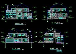 美式别墅住宅建筑设计方案