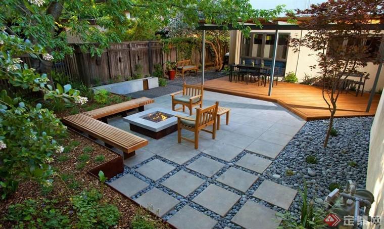 屋顶花园植物景观营造