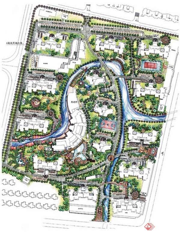 居住区绿地植物景观设计的基本要求