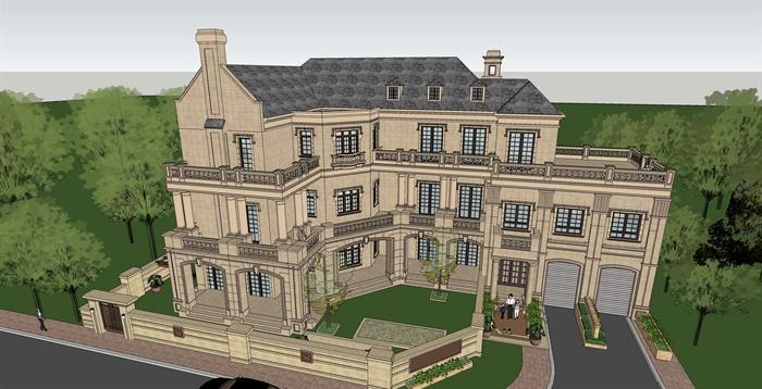 法式建筑风格解析