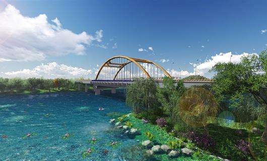 蚌埠五河桥景观设计