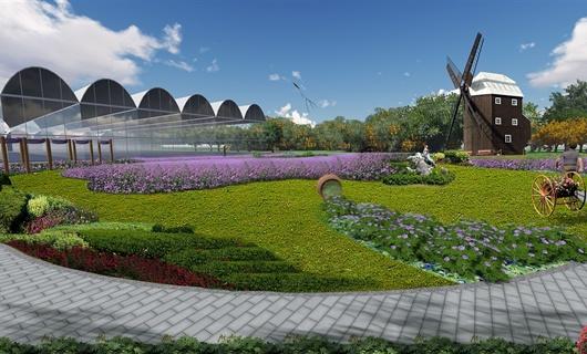 合肥新桥机场生态园景观设计