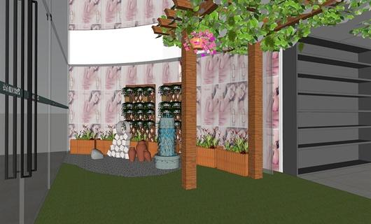 合肥百盛购物中心中庭环境设计