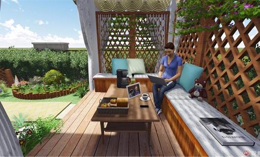 合肥海亮兰郡别墅庭院景观设计