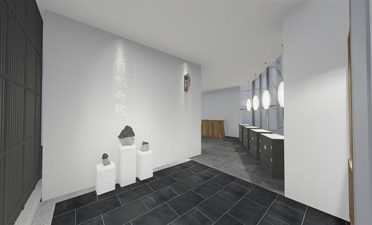 某体验馆建筑外立面改造及室内设计