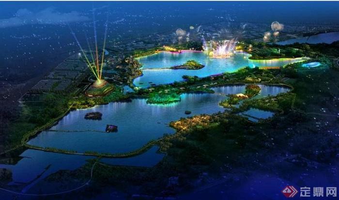 城市滨湖中央公园景观设计方案(88页)[原创]