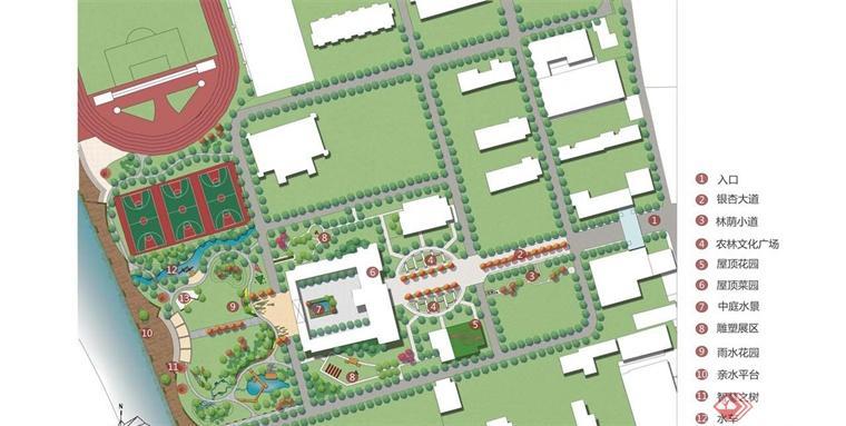 园路设计平面图手绘