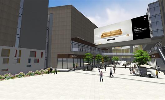 合肥华邦伊赛特商业街改造设计