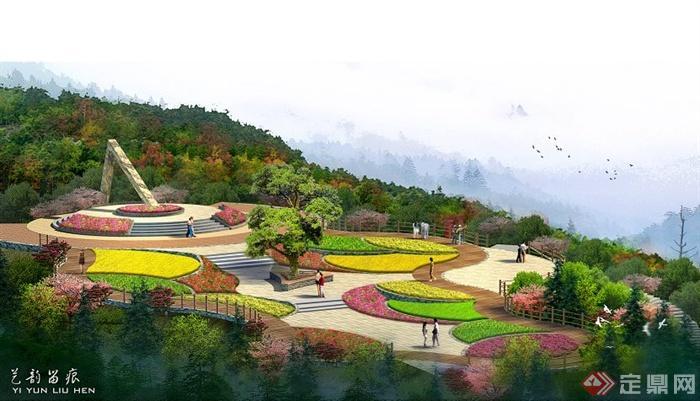 现代风格山地公园景观规划方案(57页)[原创]图片