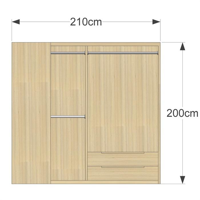 某现代风格多种更衣室衣柜设计su模型