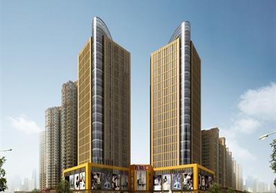 某现代高层办公公寓商场建筑设计cad施工图
