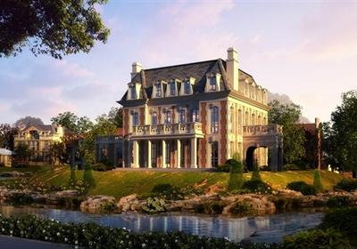 某三层法式别墅住宅建筑cad方案设计