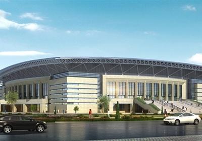 某大学体育馆建筑方案设计(带效果图)