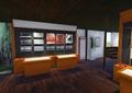 某乡村将军纪念馆室内展示空间cad设计