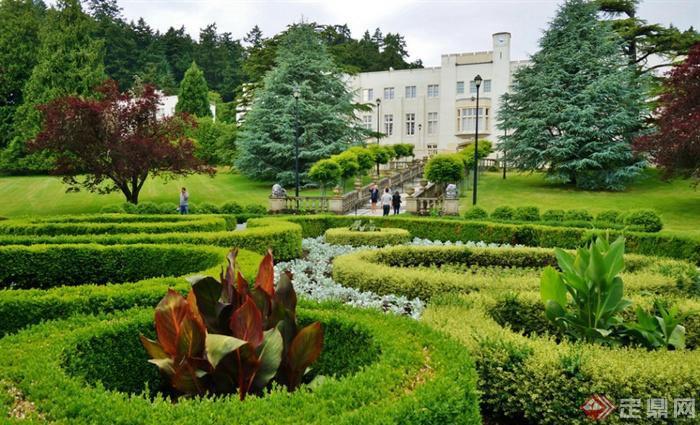 某欧式城堡公园景观设计