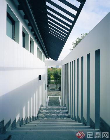现代中式别墅景观设计锦别墅霞浦天图片