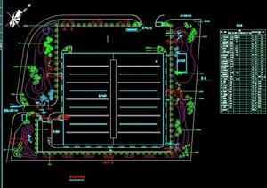 小型厂区绿化平面图
