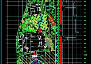 厂区绿化配置总平面图