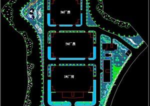 厂区绿化设计平面方案