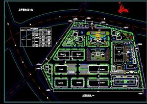 某工业园规划CAD总平面图