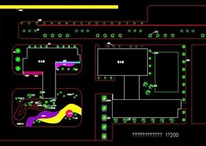 某木业公司厂区绿化设计图