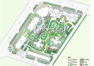 某居住小区景观规划设计方案(53页)