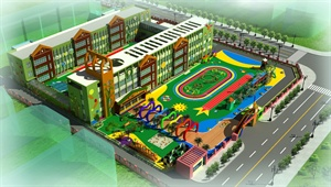 邹城市体艺幼儿园方案设计